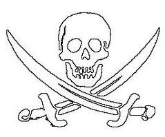 John Rackham's flag