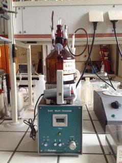 Multi Dosimat 645 Metrohm für die Chromatographie/ Chemie