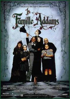 La Famille Addams de Barry Sonnenfeld - 1991 / Comédie - Horreur