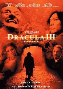 Dracula 3 - Legacy  de Patrick Lussier - 2005 / Horreur