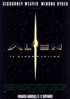 Alien 4 - La Résurrection de Jean-Pierre Jeunet - 1997 /Science-Fiction