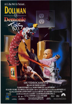 Dollman Vs Demonic Toys de Charles Band - 1993 / Horreur