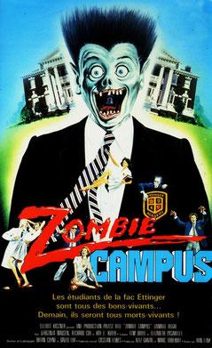 Zombie Campus de Ron Link - 1987 / Horreur - Comédie