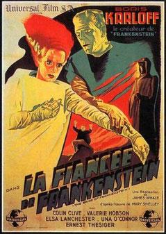 La Fiancée De Frankenstein de James Whale - 1935 / Horreur
