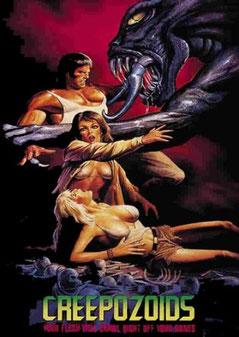 Creepozoids de David Decoteau - 1987 / Science-Fiction - Horreur