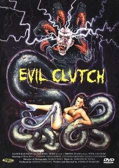 Evil Clutch de Andreas Marfori - 1988 / Gore - Horreur