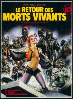 Le Retour Des Morts-Vivants de Dan O'Bannon - 1985 / Horreur