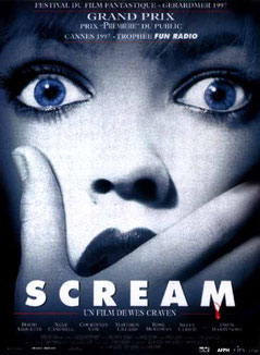 Scream de Wes Craven - 1996 / Horreur - Slasher