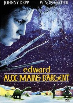 Edward Aux Mains D'argent de Tim Burton - 1990 / Fantastique