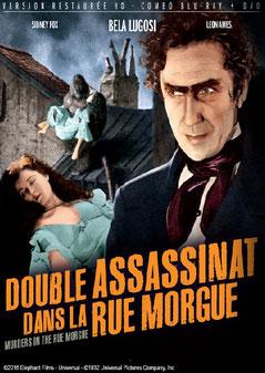 Double Assassinat Dans La Rue Morgue de Robert Florey - 1932 / Horreur