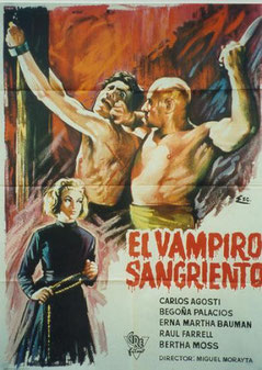 El Vampiro Sangriento de Miguel Morayta - 1962 / Fantastique - Horreur