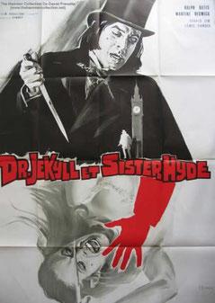 Docteur Jekyll Et Sister Hyde de Roy Ward Baker - 1971 / Horreur