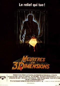 Vendredi 13 - Chapitre 3 : Meurtres En Trois Dimensions de Steve Miner - 1982 / Slasher - Horreur