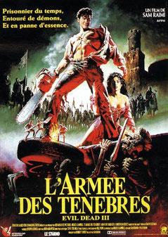 Evil Dead 3 - L'armée Des Ténèbres de Sam Raimi - 1992 / Horreur - Fantastique
