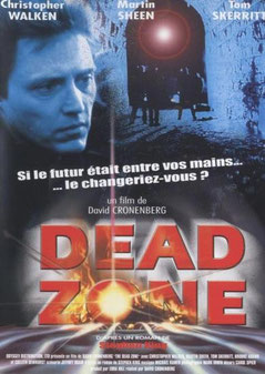 Dead Zone de David Cronenberg - 1983 / Fantastique - Science-Fiction