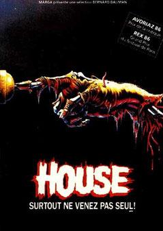 House de Steve Miner - 1985 / Horreur - Epouvante
