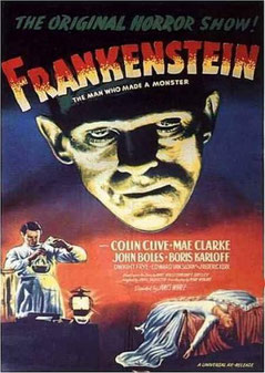 Frankenstein de James Whale - 1931 / Horreur