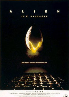 Alien - Le 8ème Passager de Ridley Scott - 1979 / Science-Fiction