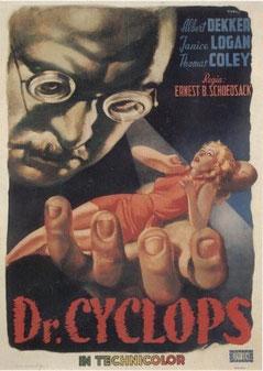 Docteur Cyclope de Ernest B. Schoedsak - 1940 / Fantastique - Horreur