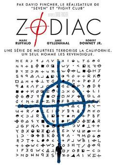 Zodiac de David Fincher - 2007 / Thriller