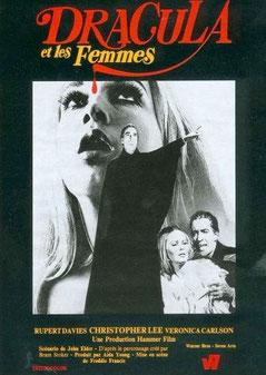 Dracula Et Les Femmes de Freddie Francis - 1968 / Horreur