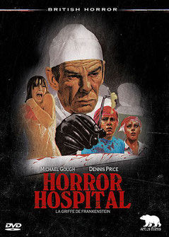 Horror Hospital - La Griffe de Frankenstein de Anthony Balch - 1973 / Horreur