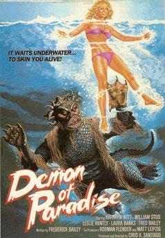 Demon Of Paradise de Cirio H. Santiago - 1987 / Horreur