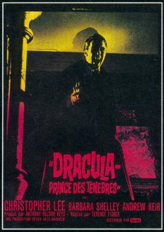 Dracula, Prince Des Ténèbres de Terence Fisher - 1966 / Horreur