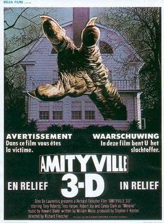 Amityville 3D - Le Démon de Richard Fleischer - 1983 / Epouvante -Horreur