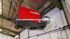 Installation chauffage magasin