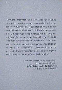 """Conversaciones entre los guionistas de """"La Isla Mínima"""". /© Ana Rodríguez"""