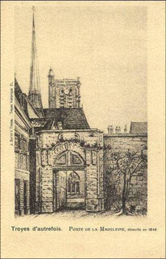 Porte de la Madeleine