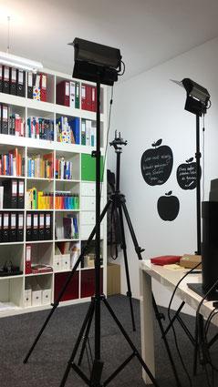 Fotolampen in meinem Büro