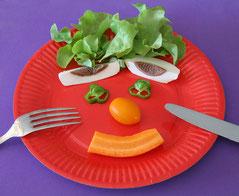 repas équilibrés en cantine scolaire