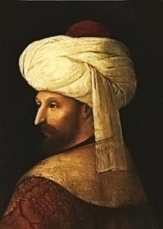 Bellini - Sultan Mehmed II © Wikipedia