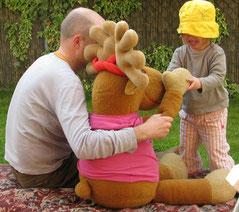Bild: Kleinkind im Dialog