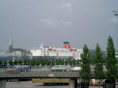 De haven van Kiel.