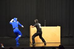 ヨコハマンVS本気仮面