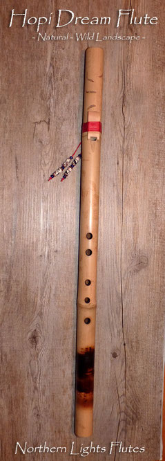 Hopi Dream Flute - Natural - Wild Landscape