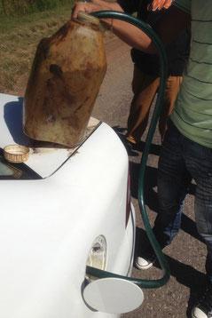 Autopanne auf Kubas Autopista