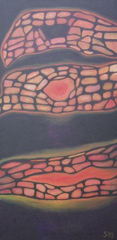 50 x 100 cm, Acryl