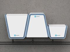 Wasseranalysegerät, Modulare Gestaltung, modaleres design, Industrie design, Produktdesign, Hannover, Deutschland