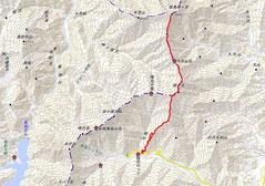 総距離23.78km、累積標高差2210mのロングコース(14時間52分でピストン)。