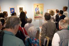 Visite commentée de l'exposition Pierre Péron, un graphiste moderne. © Marc Guilloud