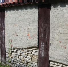 Pfostenschlitzmauer des Oppidums Alkimoennis, Kelheim
