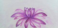 Lotus, Soul Healing Art - Seelen Heil Kunst -  Seelenbilder Seelenheilbilder Heilbilder Energiebilder von Monika David, www.mondavid.jimdo.de