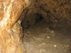 Etude par le GVSPA du souterrain de l'église d'Aubigny