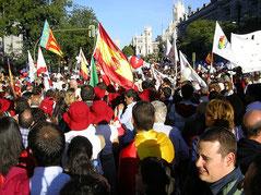 Демонстрация против абортов в Мадриде (Испания), 2009