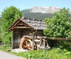 Rohrmühle am Mülliweg Klosters