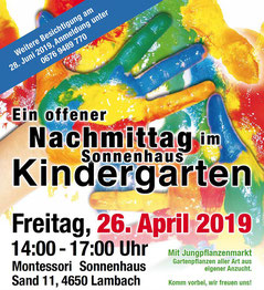 Montessori Sonnenhaus in Lambach (OÖ)  Bild: www.sonnenhaus.at
